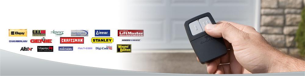 garage door remotes service