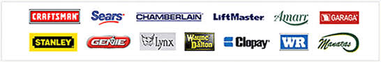 garage door brands logos